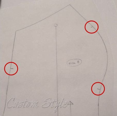 pattern notches how to cut sewing tip the easy way to cut notches custom style
