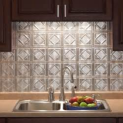 home depot kitchen backsplash tiles 18 in x 24 in traditional 4 pvc decorative backsplash panel in crosshatch silver b51 21 the