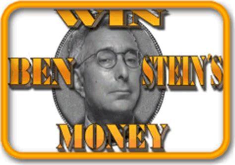 Win Ben Stein S Money - alex trebek vs pat sajak vs regis philbin wwwf grudge match