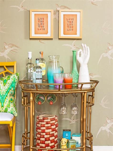how to decorate a bar bar carts a distant dream