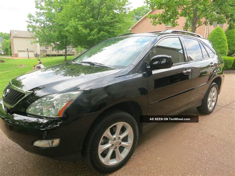 is lexus rx 350 all wheel drive 2009 lexus rx350 all wheel drive black black fully