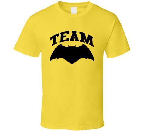 Batman2 T Shirt Custom Istimewa team batman v superman of justice logo t shirt