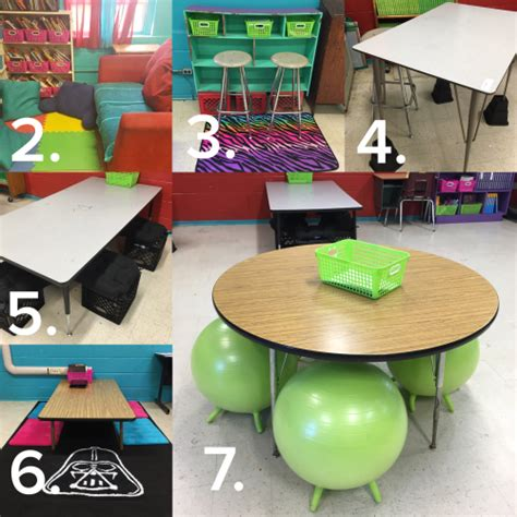 Alternative Desk Ideas Seating For The 21st Century Classroom Tech With Jen