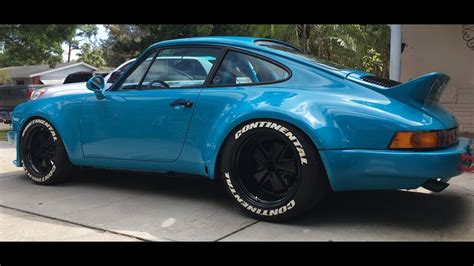 911 Wide Kit by Miami Blue Wide Porsche 911 3 3 Stroke