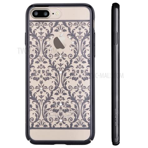Devia Iphone 7 7 Plus devia authorized swarovski baroque plating for iphone 7 plus black tvc mall