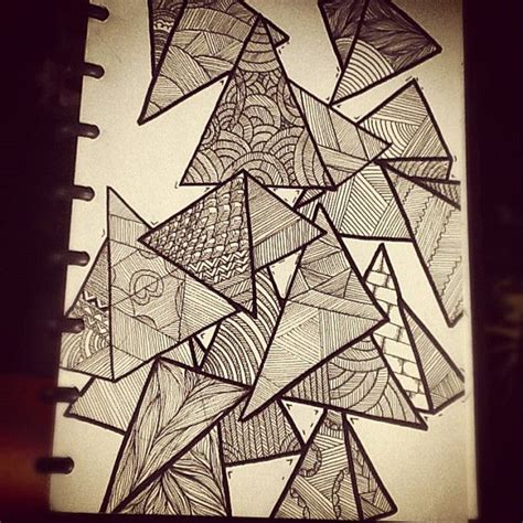 zentangle triangle pattern 17 best images about zentangles on pinterest zentangle