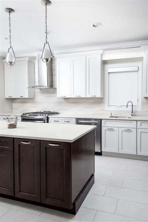 fusion chestnut kitchen cabinets this bright and beautiful fusion blanc and chestnut