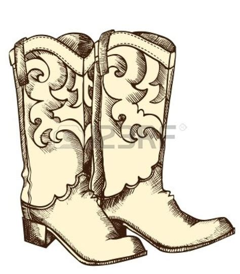 cowboy boot illustrations and clip art 1346 cowboy boot 235 best images about art club on pinterest watercolors