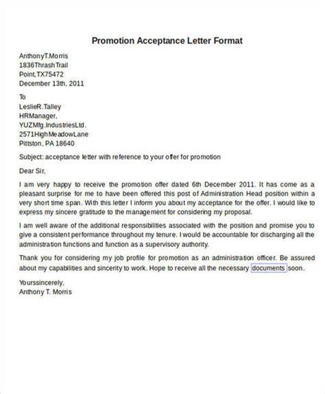 acceptance letter format 56 acceptance letters sle templates