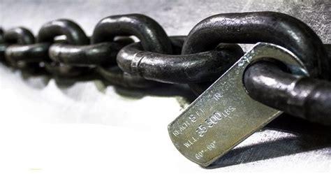 manipulacion de cadenas en c cadenas de izaje mantenimiento y cargas csbeaver
