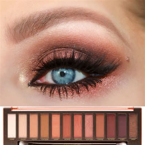 Decay Eyeshadow Palette smokey eye look decay heat palette
