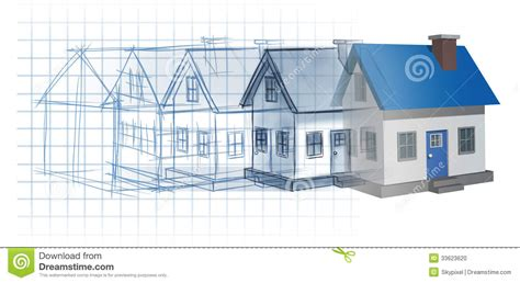 make a blue print residential development stock illustration illustration