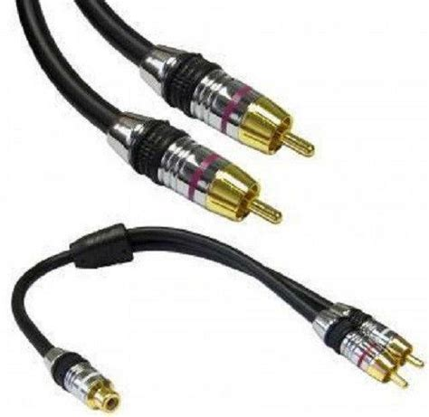 powered subwoofer cable ebay