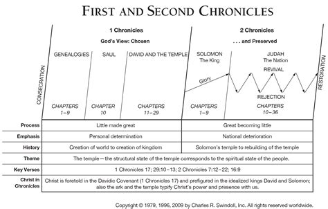 year one chronicles of the one book 1 books book of chronicles overview insight for living
