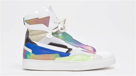 space sneakers raf simons holographic space sneaker quot multicolored