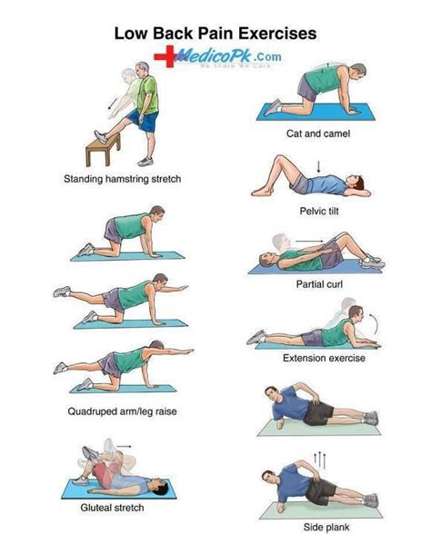 ease tension in your hips and back in just 4 minutes lower backs back exercises and low