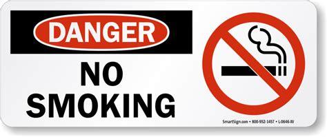 no smoking sign dog 10in x 24in laminated vinyl sign no smoking horizontal