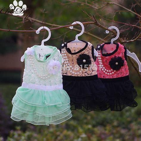 design dog clothes wedding dresses girl chihuahua