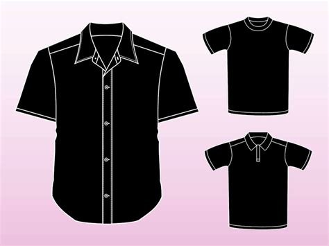 Shirt Outline Eps by Shirt Vectors Vector Graphics Freevector