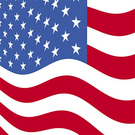 Flag Square - Illustration   American flag illustration ... Free Animated Clip Art American Flag