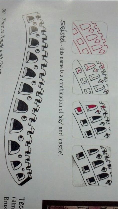 doodle castle combination 1000 images about zentangle doodle how to on