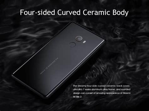 Xiaomi Mi Mix 6 Ram 6gb xiaomi mi mix 2 5 99 inch 6gb 128gb smartphone black