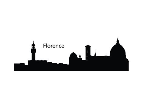 florence skyline silhouette google search tattoo ideas