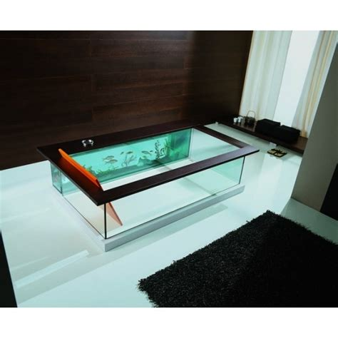 aquarium bathtub beautiful bathrooms pinterest