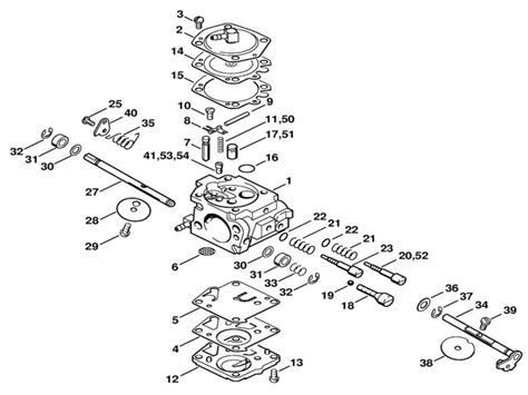 stihl chainsaw 026 parts diagram stihl chainsaw carburetor diagram stihl 034 chainsaw