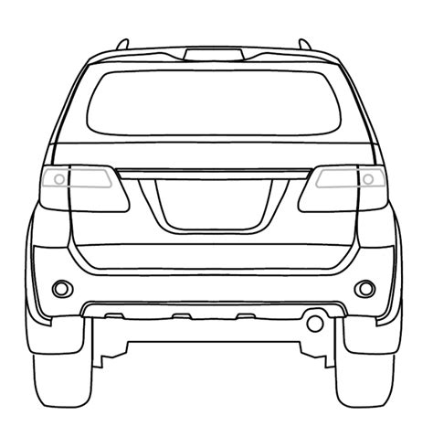 Cover F New Mobil Toyota Fortuner drawing of toyota choice image diagram writing sle
