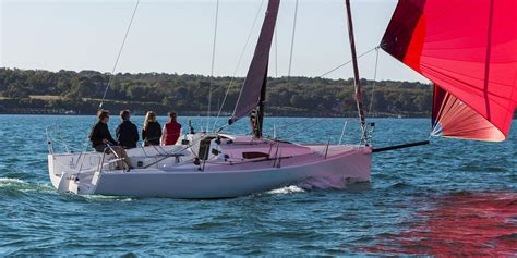 sailboat speed jcomposites pick up speed with the j 88 sport sailboat