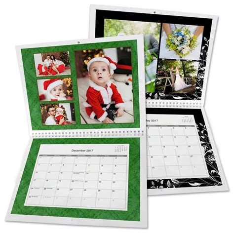 make personalized calendar custom photo calendars personalized calendars 2017 mailpix