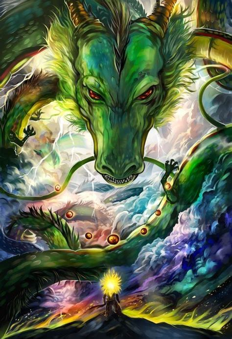 dbz shenron artwork the best dragonball z pics