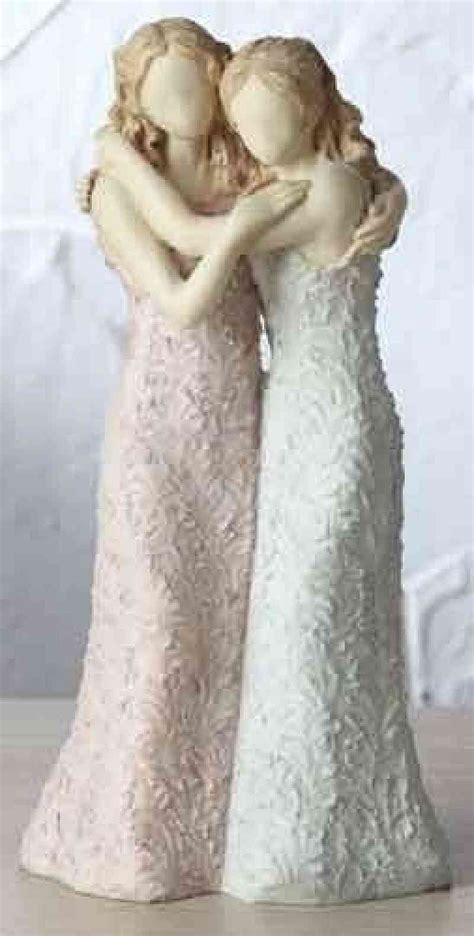 Gay Lesbian Wedding Cake Topper   Wedding Collectibles