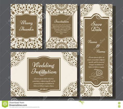 Wedding Card Collection by Wedding Card Collection With Mandala Template Of