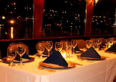 dinner on a boat seattle wa dinner table picture of waterways cruises seattle