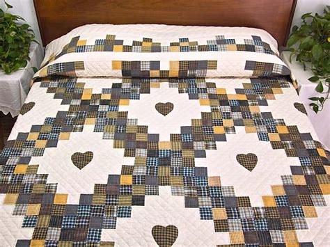 chain quilt wonderful skillfully made