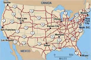 us road map with interstates on it here s the easiest way to fund the interstate highway