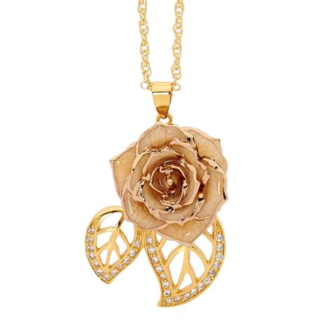 rose themed jewellery gold dipped rose blue matched jewellery set in leaf theme