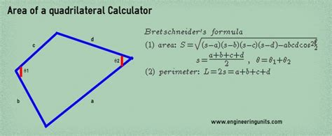 area calculater area of a quadrilateral calculator online for lazy mind