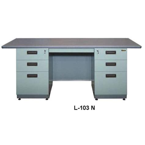 Meja Kantor Letter L jual meja kantor l 103 n murah harga spesifikasi
