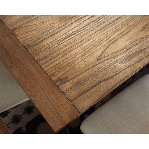 ashley furniture tripton rectangular 7 piece dining room signature design by ashley tripton 7 piece rectangular
