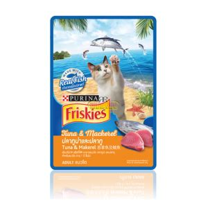 Makanan Kucing Friskies Sea Delight 400gr indo pet centre from our to your pet