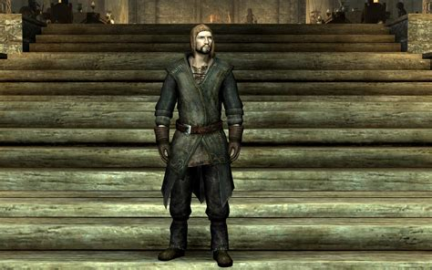 game mod jacket common clothes at skyrim nexus mods and community
