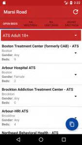 Massachusetts Detox Bed List by Android Massachusetts Addiction Recovery Software Inc