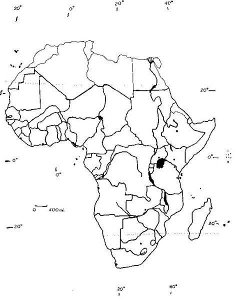 World Atlas Outline Map Of Africa by Blank Map Of Africa Geography
