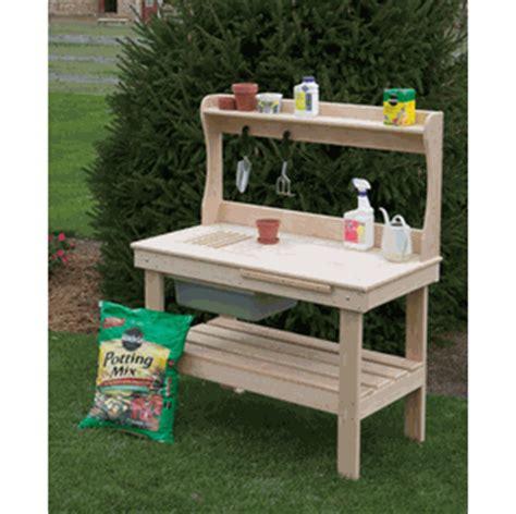 cypress potting bench gardener s dream potting bench