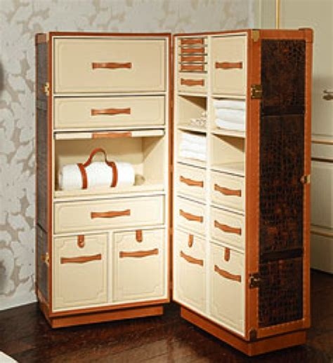 Modern Wardrobe Trunk by A Modern Concept On Those Antique Wardrobe Trunks I