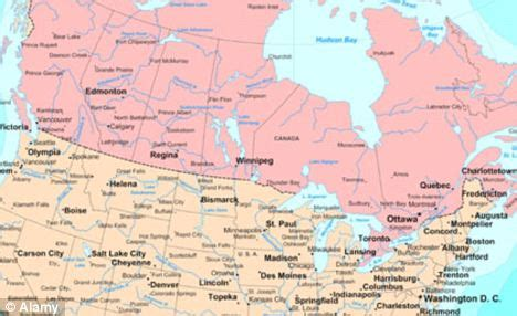 border of canada and usa map fresh fears u s canada border security as only 1 of