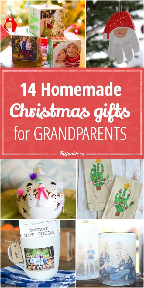 14 homemade christmas gifts for grandparents tip junkie